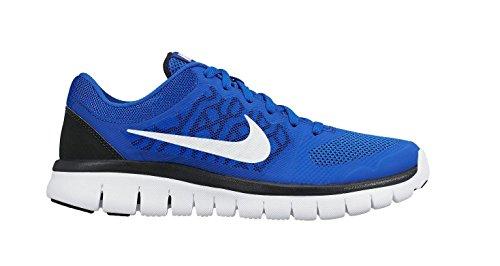 silver Shoes Run Kids' Unisex Nike Gs Multisport Flex black 2015 Indoor blue vSxS74CnH