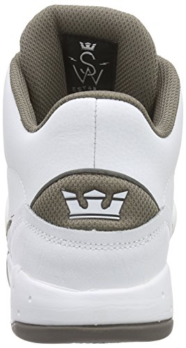 Wmo Hautes Adulte Estaban Morel White Sneakers Morel Blanc Mixte Supra wFzRqg