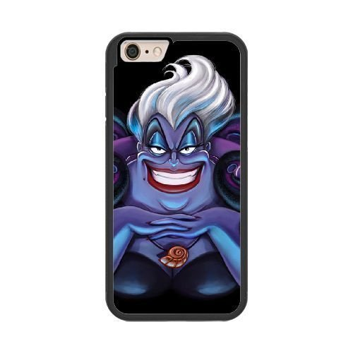 The best gift for Halloween and Christmas iPhone 6 plus 5.5 inch Cell Phone Case Black Freak badass Ursula by disney villains (Villains Disney This Is Halloween)