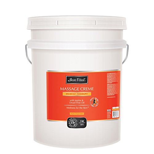 Bon Vital Muscle Therapy Massage Creme, 5 Gallon Pail by Bon Vital