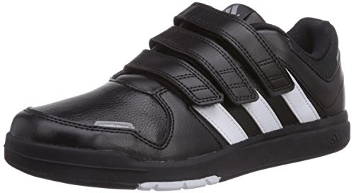 adidas LK Trainer 6 CF K - Zapatillas para niño Negro / Blanco / Plata