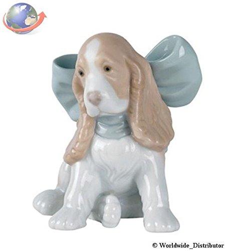 Amazon.com: Nao de porcelana by Lladro Puppy Present 2001349 ...