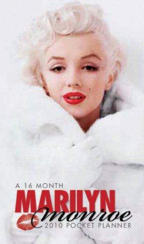 2010 Marilyn Monroe - Pocket Checkbook Calendar