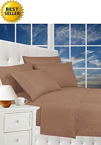 Elegance Linen Wrinkle Resistant Luxury 6-Piece Bed Sheet Se