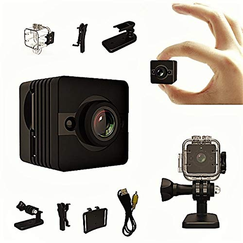 Amazon.com : Mini Spy Camera Hidden Cam -1080P HD Infrared Night Vision, Motion Detection, Waterproof Tiny Nanny Camera, 155° Wide Angle Lens - Portable ...