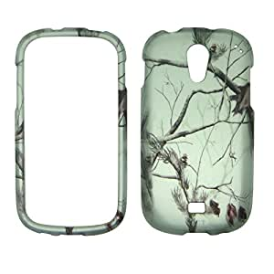 2D Snow Camo Pine Samsung Galaxy Light T-399 T - Mobile Case Cover Hard Phone Case Snap-on Cover Rubberized Touch Protector Faceplates