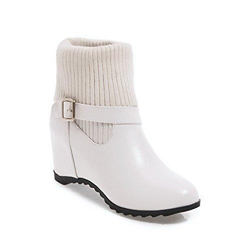 BalaMasa Abl10098, Plateforme femme - Blanc - blanc,