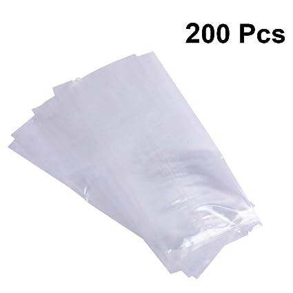 UPKOCH - Bolsas de plástico transparente para helados ...