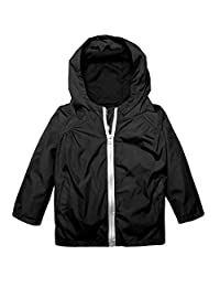 Kids Raincoat Cindere Lightweight Waterproof Rain Jacket Coat with Hooded