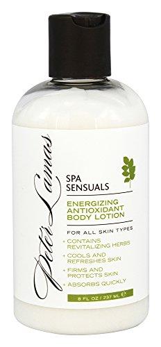 Peter Lamas Spa Sensuals energizante antioxidante cuerpo loción, 8 fl oz