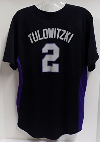 Troy Tulowitzki Colorado Rockies Youth Baseball Jersey - Youth Size XL Made by Majestic (Free Shipping) ()