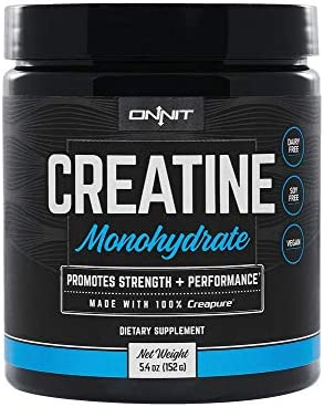 Onnit Micronized Creatine Monohydrate Creapure – 5g Per Serving – NSF Certified Creatine Powder – 30 Servings