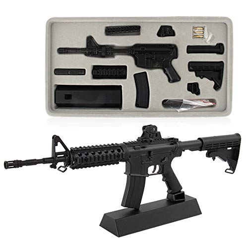Fantarea 1/3 Metal Alloy Guns Model Figures Gun Miniature Collection,Party Supplies Toy ,Desktop Decor ,Birthday Gifts Party Role-Playing for Kid Fit for M4A1 Carbine Sniper-Rifle