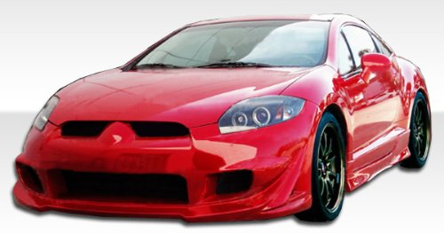 2006-2012 Mitsubishi Eclipse Duraflex Eternity Kit - Includes Eternity Front Bumper (104700), Eternity Rear Bumper (104702), and Eternity Sideskirts (104701). - Duraflex Body Kits - Duraflex Body Kits