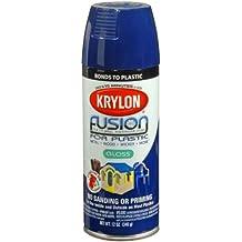 Krylon K02326000 Fusion For Plastic Aerosol Spray Paint, 12-Ounce, Navy by Krylon