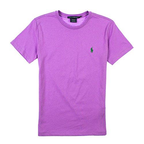Ralph Lauren Womens Short Sleeve T-Shirt M Club Purple