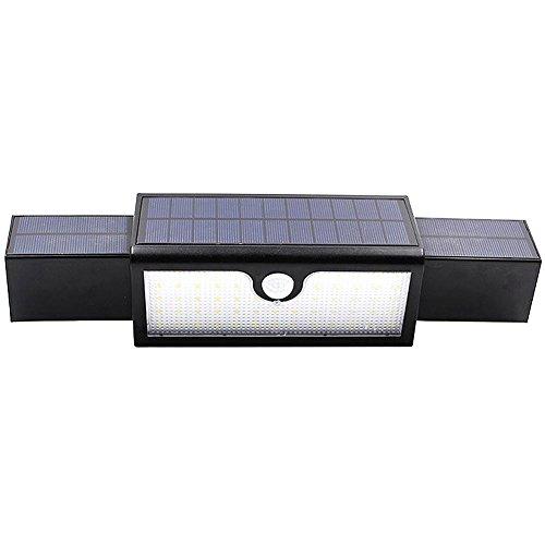 alloet Waterproof 71 LED Human Induction Solar Lamp Garden Floodlight Spotlights by alloet
