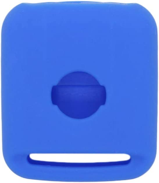 SEGADEN Silicone Cover Protector Case Skin Jacket Compatible with NISSAN 2 Button Remote Key Fob CV9502 Deep Blue