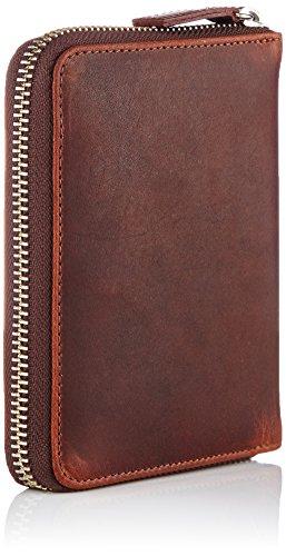 Jost - Tarjetero  hombre Marrón Marrón / marrón claro 12 cm