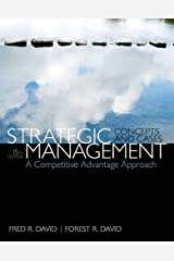 Strategic Management: A Competitive Advantage Approach, Concepts & Cases (15th Edition) Hardcover