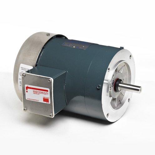 (Marathon Electric K607 - Car Wash Motor - 3 ph, 3/4 hp, 1800 rpm, 230/460 V, 56C Frame, TEFC Enclosure, 60 Hz)