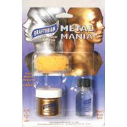 Graftobian Metal Mania Makeup Kit Gold 1 oz./26 g