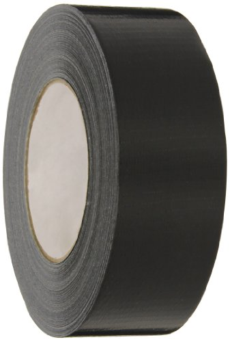 Nashua 2280 Polyethylene Coated Cloth General Purpose Duct Tape, 9 mil Thick, 55 m Length, 48 mm Width, Black - Polyethylene Coated Cloth Duct Tape