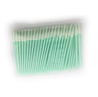 cleanmo espiral punta espuma cabeza toallitas para limpieza de difícil para zona libre de fibra de
