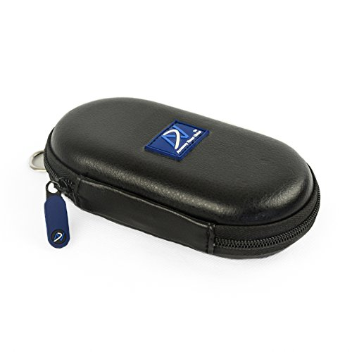 Accessory House Carrying Case for Bose QuietComfort 20 (QC20/QC20i), Bose SoundSport in-Ear, Bose SoundSport Wireless, B&O H3 ANC, Sennheiser CX700 and Many Other Earphones (PU Leather Black) ()