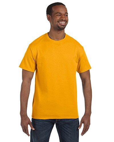 Jerzees Dri-Power Mens Active T-Shirt Medium Gold