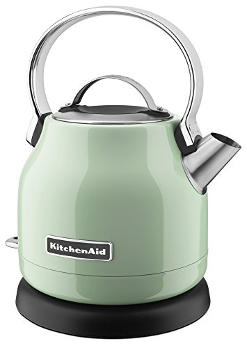 (KitchenAid KEK1222PT 1.25-Liter Electric Kettle - Pistachio (Renewed))