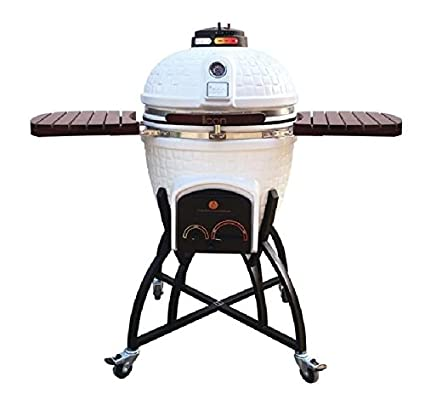 Amazon.com: Icono Grills CG401 Carbón kamado parrilla con ...
