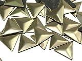10mm Triangle Hotfix Nailheads - 100 Pieces