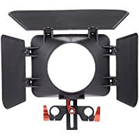 Commlite ComStar CS-M1 Video system Matte Box/Barndoor for Sony A7 A7II A7R A7S A7RII A7SII for Panasonic GH4 Mirrolrless Cameras
