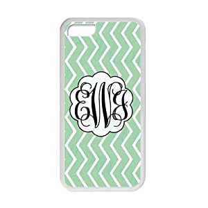meilz aiaiDark SeaGreen Zigzag Infinity Chevron Design Monogram Custom Plastic Cover Case For ipod touch 5 By meilz aiai