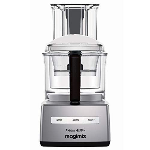 Magimix 4200XL Food Processor - Satin by Magimix (Gray) (Magimix By Robot Coupe Food Processor 14 Cup)