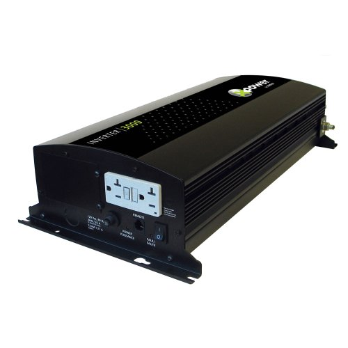 Xantrex XPower 3000 Inverter GFCI & Remote ON/OFF UL458 Mari