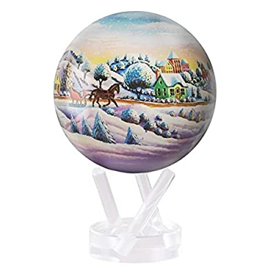 "Mova 4.5"" Home for The Holidays Globe: Toys & Games"
