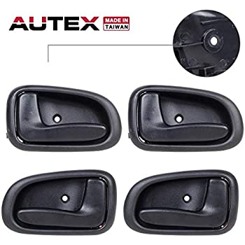 New Outer Black Front Right Pass RH Side Door Handle For 93-97 GEO PRIZM