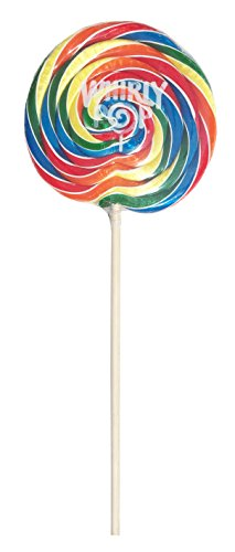- Adams Brooks Whirly Pop Lollipop Rainbow Swirl Party Candy 10 Oz