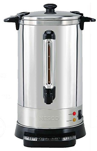 Nesco CU-50 Stainless Steel Coffee (50 Cup Stainless Urn)