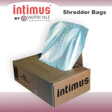 Martin Yale Multimedia Shredder Bags - 82683 by Intimus