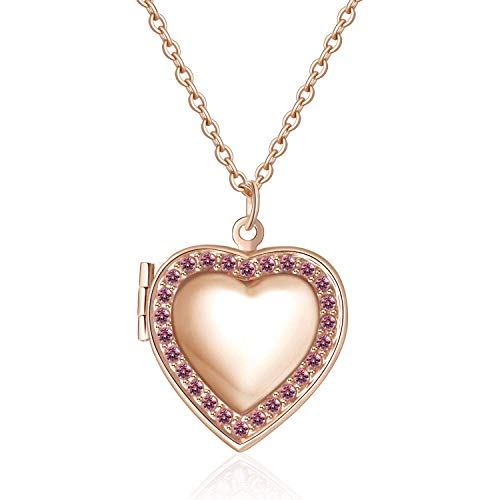 YOUFENG Love Heart Birthstones