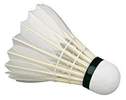 WILSON CLUB 20 TRAINING SHUTTLE COCK (GOOSE FEATHER Pack of 12)