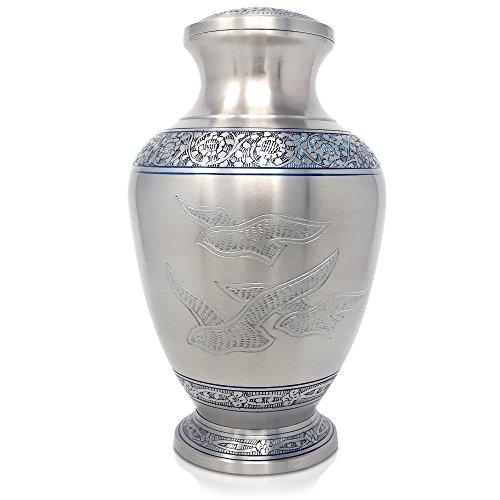 urns for human ashes brass - 1