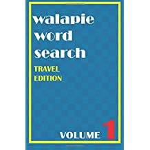 Walapie Word Search Volume 1 (Travel Edition)