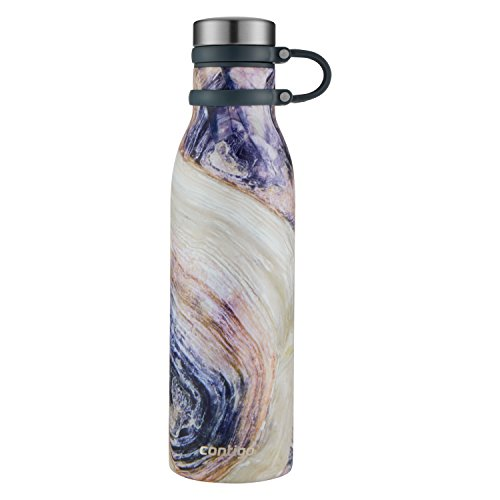 ure Thermalock Vacuum-Insulated Stainless Steel Water Bottle, 20 oz, Twilight Shell (Shell Water)