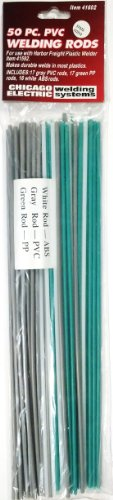 50 Piece Plastic Welding Rods (Plastic Rod Welding)