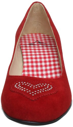 Pumps Toe Women 7 Diavolezza red 40 Red Closed Red 6052 HfaSq4