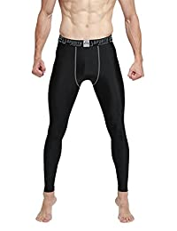EU Men's Compression Tights Pants Base Layer Underwear Running Leggings